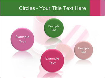 Open Bottle of Pink Nail Polish PowerPoint Template - Slide 77