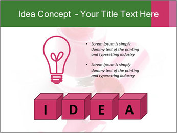 Open Bottle of Pink Nail Polish PowerPoint Template - Slide 80