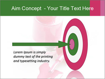 Open Bottle of Pink Nail Polish PowerPoint Template - Slide 83