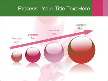 Open Bottle of Pink Nail Polish PowerPoint Template - Slide 87