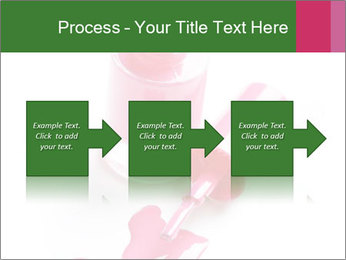 Open Bottle of Pink Nail Polish PowerPoint Template - Slide 88