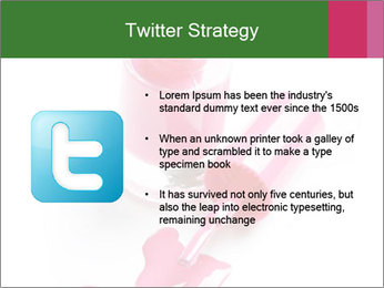 Open Bottle of Pink Nail Polish PowerPoint Template - Slide 9