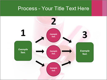 Open Bottle of Pink Nail Polish PowerPoint Template - Slide 92