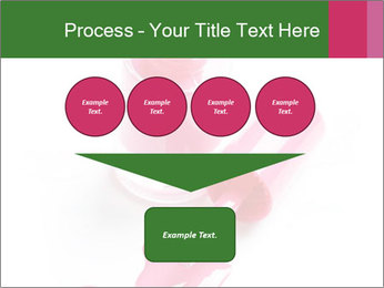 Open Bottle of Pink Nail Polish PowerPoint Template - Slide 93