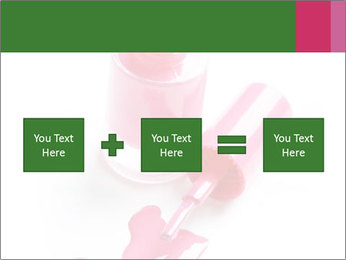 Open Bottle of Pink Nail Polish PowerPoint Template - Slide 95