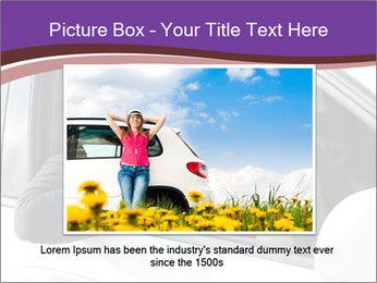 Woman Holding Car Keys PowerPoint Template - Slide 15