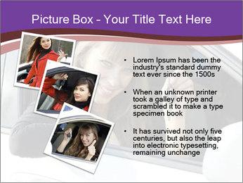 Woman Holding Car Keys PowerPoint Template - Slide 17