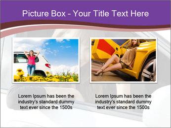 Woman Holding Car Keys PowerPoint Template - Slide 18