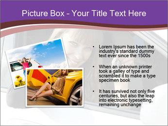Woman Holding Car Keys PowerPoint Template - Slide 20