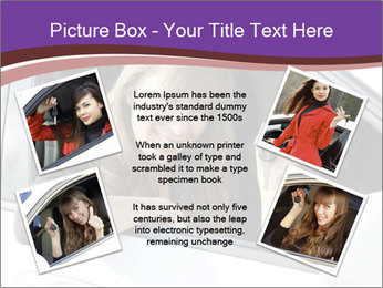 Woman Holding Car Keys PowerPoint Template - Slide 24