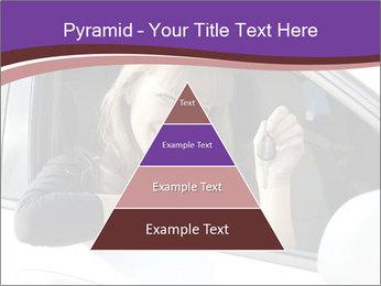 Woman Holding Car Keys PowerPoint Template - Slide 30