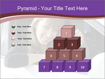 Woman Holding Car Keys PowerPoint Template - Slide 31
