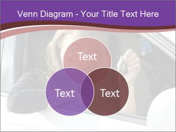 Woman Holding Car Keys PowerPoint Template - Slide 33