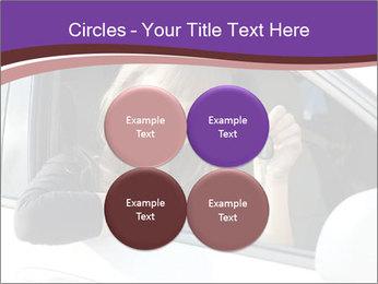 Woman Holding Car Keys PowerPoint Template - Slide 38