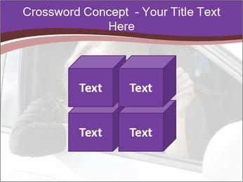 Woman Holding Car Keys PowerPoint Template - Slide 39