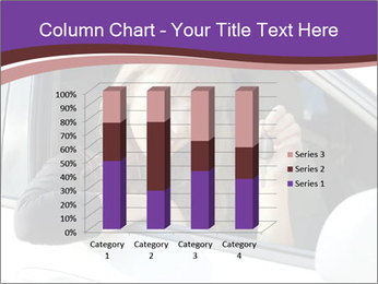 Woman Holding Car Keys PowerPoint Template - Slide 50