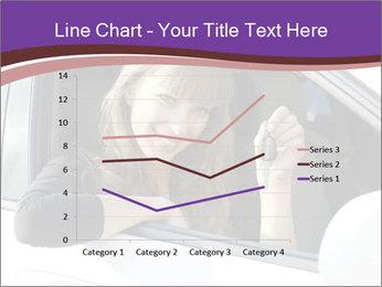 Woman Holding Car Keys PowerPoint Template - Slide 54