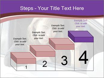 Woman Holding Car Keys PowerPoint Template - Slide 64