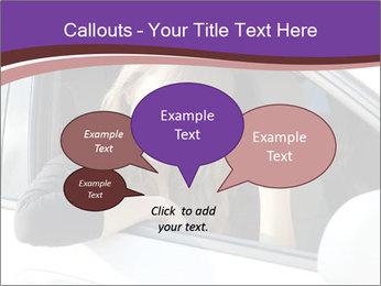Woman Holding Car Keys PowerPoint Template - Slide 73