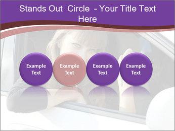 Woman Holding Car Keys PowerPoint Template - Slide 76