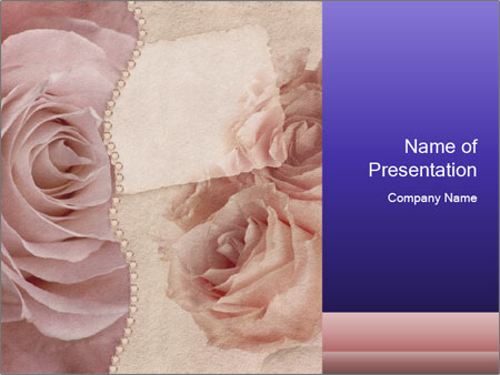 Wedding Scrapbooking PowerPoint Templates