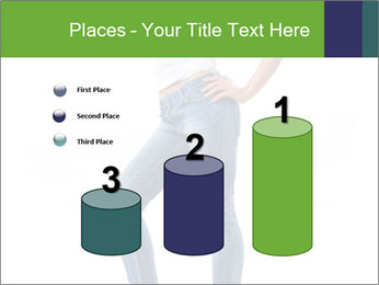 Girl Showing New Skinny Jeans PowerPoint Template - Slide 65