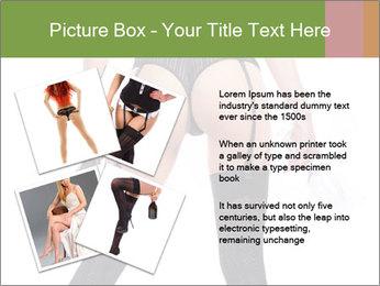 Lingerie for Special Dinner PowerPoint Templates - Slide 23