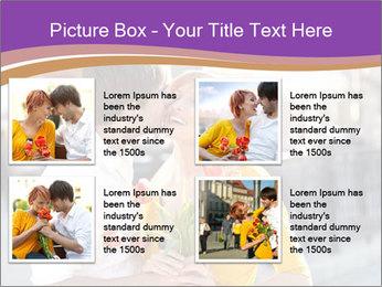 Romantic Kiss PowerPoint Templates - Slide 14