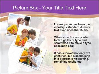 Romantic Kiss PowerPoint Templates - Slide 17