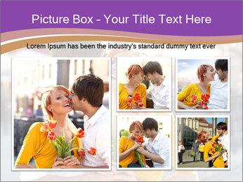 Romantic Kiss PowerPoint Template - Slide 19