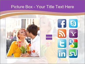 Romantic Kiss PowerPoint Templates - Slide 21