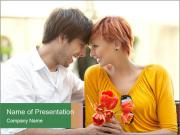 First Romantic Date PowerPoint Templates