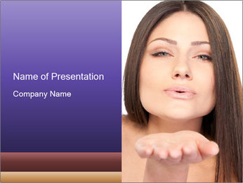 Air Kiss PowerPoint Template