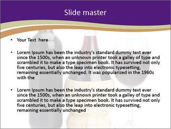Sweet Red Wine PowerPoint Template - Slide 2