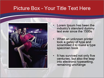 Couple Sitting in Limo PowerPoint Template - Slide 13