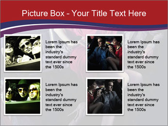 Couple Sitting in Limo PowerPoint Template - Slide 14