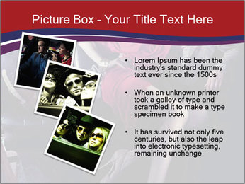 Couple Sitting in Limo PowerPoint Template - Slide 17