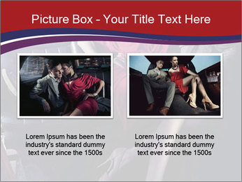 Couple Sitting in Limo PowerPoint Template - Slide 18