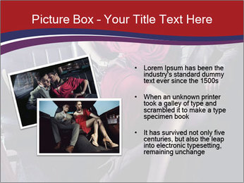 Couple Sitting in Limo PowerPoint Template - Slide 20