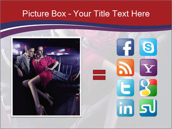Couple Sitting in Limo PowerPoint Template - Slide 21