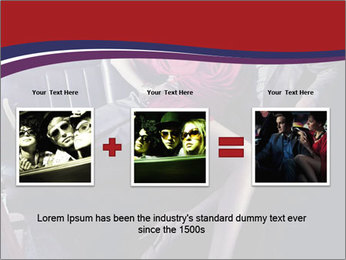 Couple Sitting in Limo PowerPoint Template - Slide 22