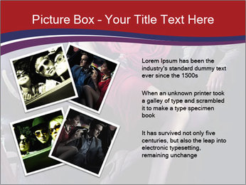 Couple Sitting in Limo PowerPoint Template - Slide 23