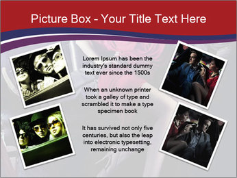 Couple Sitting in Limo PowerPoint Template - Slide 24