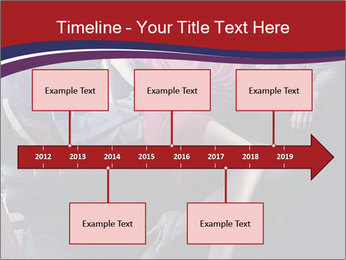 Couple Sitting in Limo PowerPoint Template - Slide 28