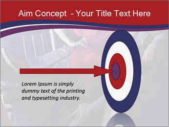Couple Sitting in Limo PowerPoint Template - Slide 83