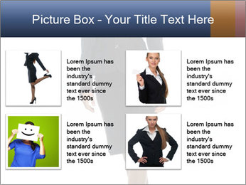 Female Business Clothing PowerPoint Template - Slide 14