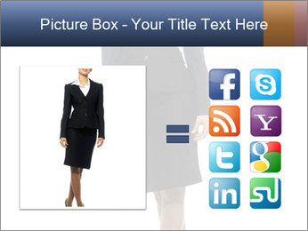 Female Business Clothing PowerPoint Template - Slide 21