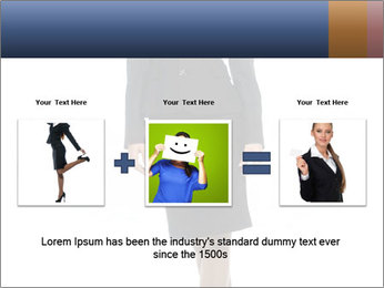 Female Business Clothing PowerPoint Template - Slide 22