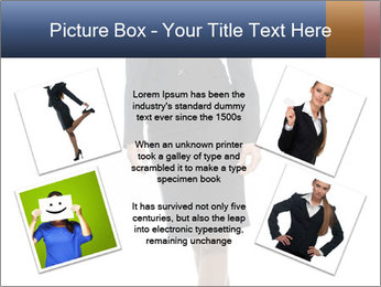 Female Business Clothing PowerPoint Template - Slide 24