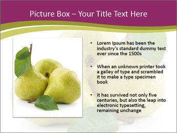 Three Ripe Pears PowerPoint Templates - Slide 13